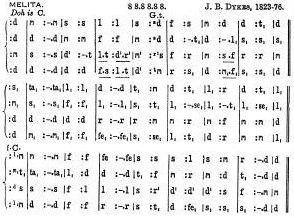 Tonic Sol-fa Notation