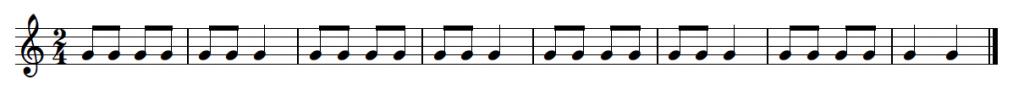 Surprise Symphony Rhythm